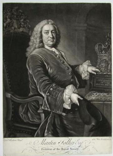 Martin Folkes F.R.S. (1690-1754)