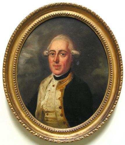 Rear-Admiral Cornthwaite Ommanney (c.1736-1801)