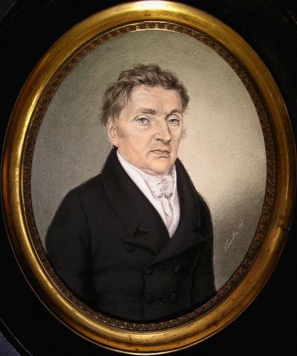 Portrait of Mr. de Roepstorff