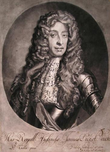 King James II as Duke of York