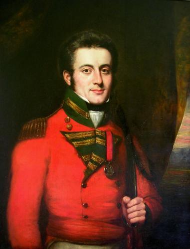 Captain George Barlow (1791-1824)