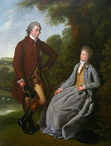 The Duke & Duchess of Marlborough c.1787