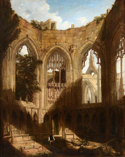 Howden Abbey c.1835