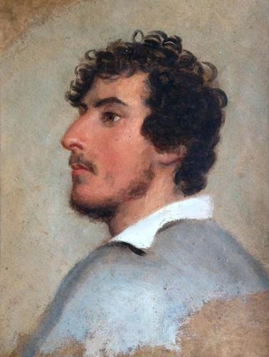 A Portrait Study of a Young Man