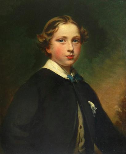 Portrait of a young Gentleman c.1855