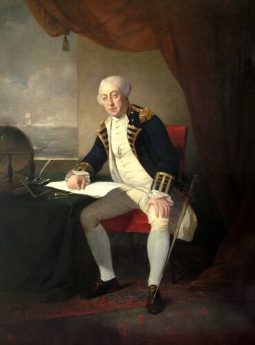 Admiral Philip Affleck (1726-1799)