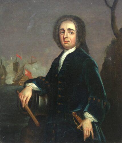 Admiral Edward Vernon (1684-1757)