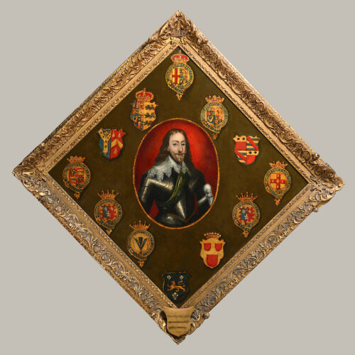 King Charles I with the Arms of Nobility