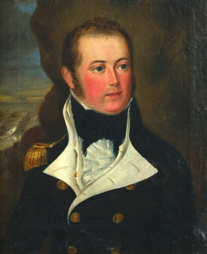 Portrait of Lt. Edward Elers R.N. (1782-1815)