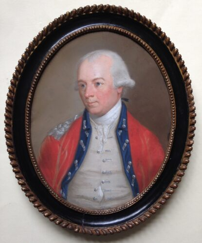 Adj-General, Lt-Col. John Cosnan (1723-1778)