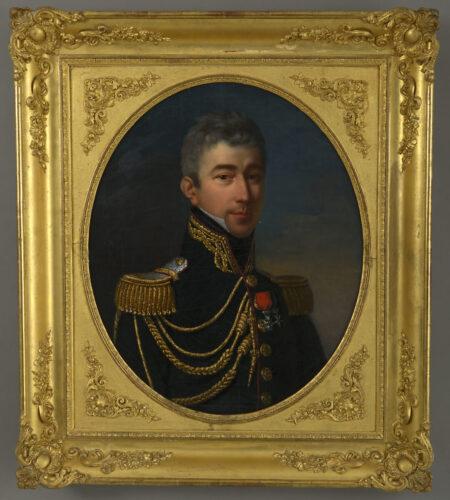 Portrait of a French Lieutenant-Colonel, c.1821
