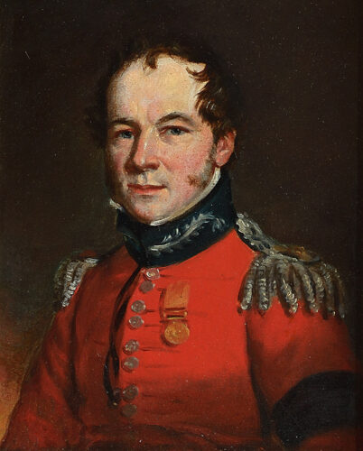 Portrait of an Army Officer