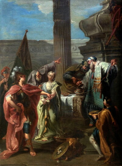 The Sacrifice of Polyxena, 1754